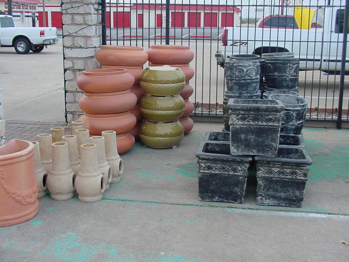 Outdoor Pottery The Backyard Pottery Supply Store Texas