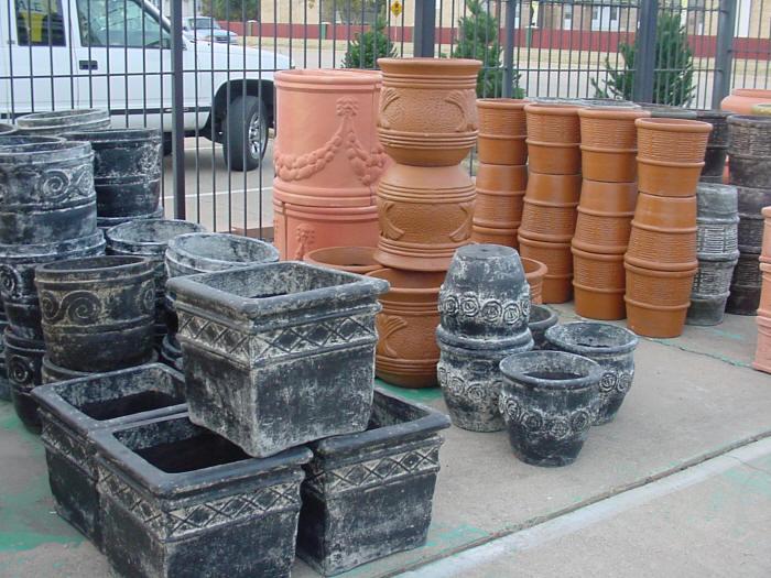 Outdoor Pottery The Backyard Pottery Supply Store Texas