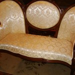 Victorian Cameo Back Couch