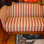 Victorian Duncon Fife Love Seat